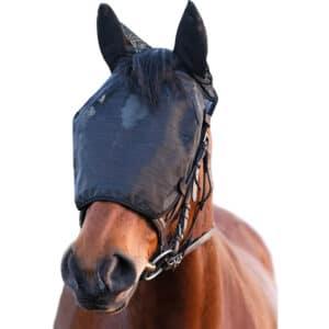 Equilibrium net relief riding mask
